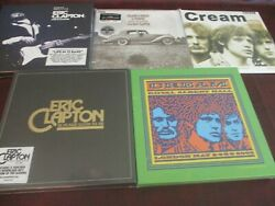 Eric Clapton Live Boxes Cream Albert Hall + 60's +1970-80 Box And Friends 14 Lps