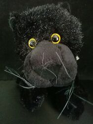 Webkinz PLUSH ONLY - BLACK PANTHER - JUST the PLUSH !!!