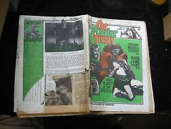 Vintage The Monster Times Volume 1 No 11 Newspaper Magazine Planet Of The Apes