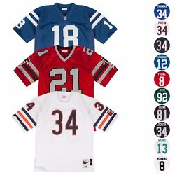 Nfl Mitchell And Ness Authentic Throwback Home Away Retro Jersey Collections Men's