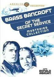 Brass Bancroft Of The Secret Service Mysteries Collection [new Dvd] Bl
