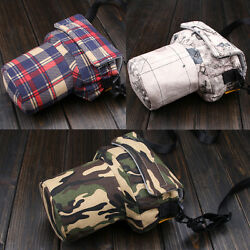 Women Men DSLR Camera Shoulder Bag Padded Insert For Large Canon 70D 7D Nikon