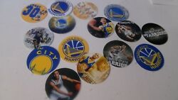 Pre Cut One Inch Golden State Warriors Bottle Cap Images Free Ship