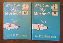 Are You My Mother? PD Eastman Vintage HBDJ Early Printing