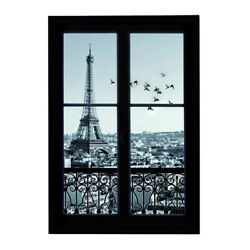 3D Tower Secenry Outside Window Large Wall Stickers Kids Room Decal Mural