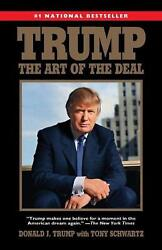 Trump: The Art of the Deal by Donald J. Trump English Paperback Book Free Ship