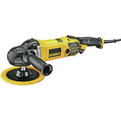 Dewalt 7 In. / 9 In. Variable Speed Polisher With Soft Start Dwp849x New