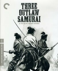 Three Outlaw Samurai Criterion Collection New Blu ray Black amp; Whit $22.83
