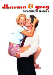 Dharma And Greg The Complete Season 2 [new Dvd] Full Frame, Dolby, Ntsc Format