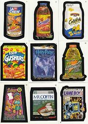 WACKY PACKAGES A NEW SERIES ANS 1 2004 TOPPS COMPLETE BASE CARD SET OF 55 SF