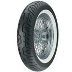Dunlop Cruisemax Motorcycle Rear Tire 150/80h16 Wide White Walled-310446