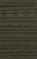 Green Stripes Lines Woodgrain Transitional Area Rug Striped Dv16