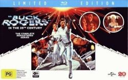 Buck Rogers In The 25th Century The Complete Remastered Series [new Blu-ray]