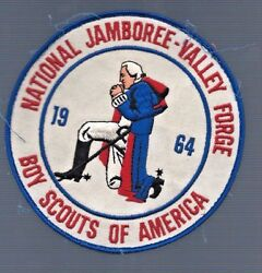 1964 Boy Scouts America National Jamboree Patch Valley Forge George Washington