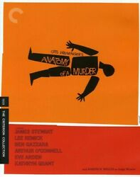 Anatomy of a Murder Criterion Collection New Blu ray Black amp; White $29.31