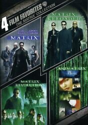 4 Film Favorites The Matrix Collection [new Dvd] Widescreen