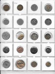 Lot 3 Of 100 Tokens In Coin Holders 5 Album Pages