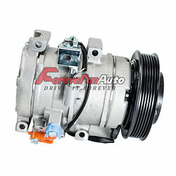 A/c Compressor With Clutch Fits Lexus And Toyota Models 10s17c