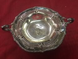 Shm And Co. G4812 Silver Tray Dish Sheffield Reproduction