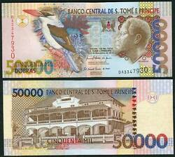 Saint Thomas And 50000 Dobras 2010 Uncnew Date