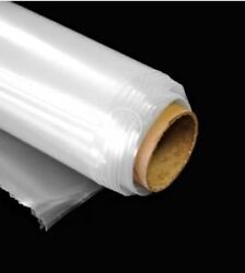 Greenhouse Clear Plastic Film Polyethylene Covering 6 Mil, 12ft X 25ft
