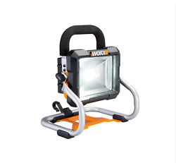 Wx026l.9 Worx 20v Cordless Led Work Light - Tool Only No Battery Or Charger