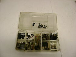 Misc. Lot Of Ho Model Railroad Gears Shafts Universal Couplers And Other Items