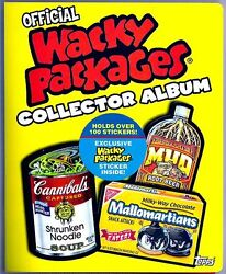 Wacky Packages All New Series 4 Binder With B1 Stella Dork'o