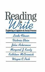 Reading-to-write Exploring A Cognitive And Social Process By Linda Flower Engl