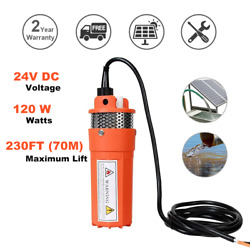 24v Farm And Ranch Submersible Deep Solar Well Water Pump For Watering Irrigation