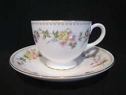 Wedgwood - Mirabelle R4537 - Teacup And Saucer