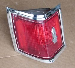 1978 - 1979 Cadillac Seville Lh Tail Light Complete W/ Lens Orig 76 77 78 79