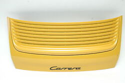 Porsche 996 Deck Lid Yellow Used Complete 99651201101grv