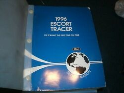 1996 FORD ESCORT MERCURY TRACER FACTORY FORD SHOP SERVICE MANUAL COMPLETE