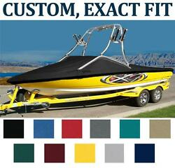 7OZ CUSTOM BOAT COVER BAYLINER 190 DECK BOAT WFLIGHT SERIES 2 POINT TOWER 13-16