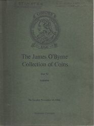 Christie's O'byrne Coins Collection Saxony Medals Catalog 1966