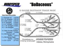 Lionel Fastrack Bodaceous Track Layout 6' X 11' O Gauge Switch Siding Pack New