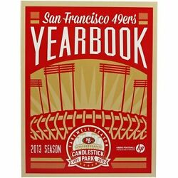 NEW 2013 San Francisco 49ers Yearbook Candlestick Park Final Season 1971 2013