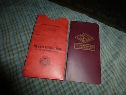 1965 The First National Bank Sault Ste. Marie, Mich Savings Account Book W Cover