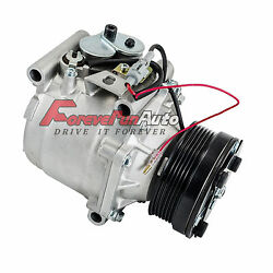 A/c Compressor With Clutch For 99-02 Saab 9-3 2.0l 2.3l Co 4917ac 4635892