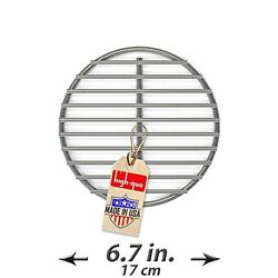 Durable Replacement Fire Grate Great For Medium Big Green Egg Grill - 6.7 Inch