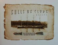 Falls Of Clyde 4 Mast Ship, Wood Rope Relic Piece Swatch 1878 Boat Hawaii