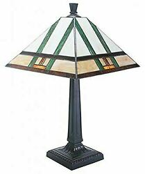 Like Shade With Mission Style Table Lamp Base Two Parts
