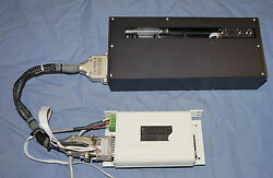 Smac Las55-150 Linear Slide Actuator 150mm Travel +lac-1 Axis Controller 5 Andmicrom