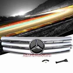 Front Silver CL-Style Grille for Benz SL-Class W129R129 SL280 300 320 500 600