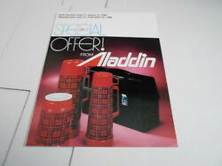 Aug 1980 Vintage Catalog 1490 - Alladdin Thermos - Lunch Boxes