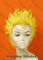 Fairy Tail Laxus Custom Styled Cosplay Wig_commission684