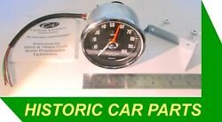 """Rev Counter Tachometer - 3¼"""" 80mm Dia 10,000rpm Suit 1-12 Cyl And Diesel Eng"""