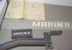 New Oem Mariner Assorted Outboard Motor Partial Decals As Shown In Picture