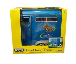 Breyer 19 Traditional Horse Two-horse Trailer Horse Box Model - No.2617